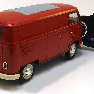 Welly Volkswagen RC Bestelbus T1 Rood 1:16