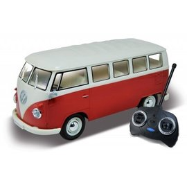 Welly Volkswagen Bus T1 Rood 1:16
