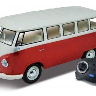 Welly Bestuurbare Volkswagen Bus T1 Rood 1:16