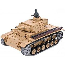 Heng Long Tauchpanzer III tank 1:16 PRO
