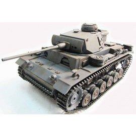 Mato Panzer III tank 1:16 Full Metal