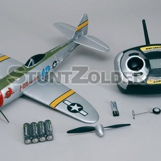 Nine Eagles Rc vliegtuig P47 Thunderbolt (4-kanaals)