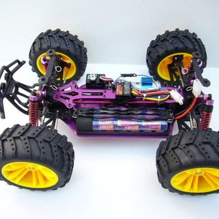 HBX Rc Monstertruck Xmissile 4WD 1:10