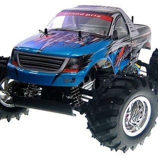 HBX Rc Monstertruck Cross Tiger 4WD 1:10