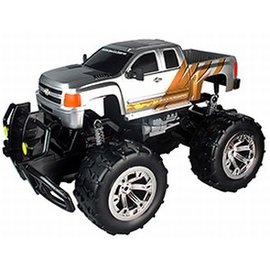 Race Tin Monster Truck Chevrolet Silverado 1:10