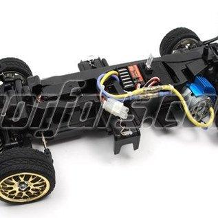 HBX Rc Tourenwagen Lancer EVO 4WD 1:10