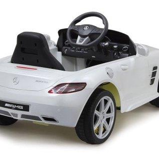 Jamara Kinderauto Mercedes Benz SLS AMG (wit)