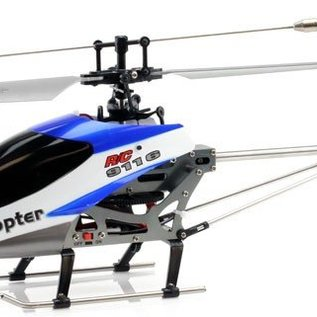Double Horse Bestuurbare helicopter Grinder (4-kanaals, middelgroot model)