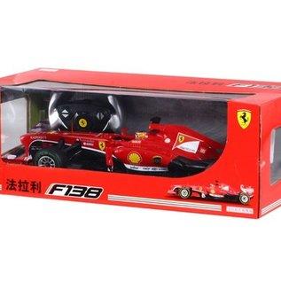 Rastar Rc race auto Ferrari F138 1:12