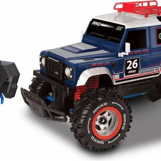 Nikko R/C Rc truck Land Rover Defender 90 1:16