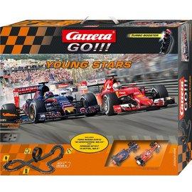 Carrera RC Racebaan F1 Verstappen en Vettel 1:43