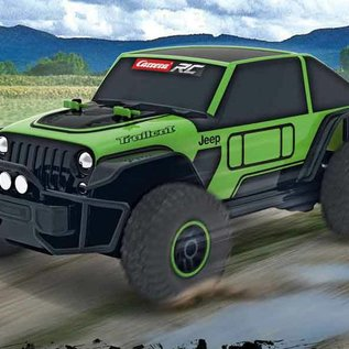 Carrera RC Afstandbestuurbare Jeep Trailcat 1:18
