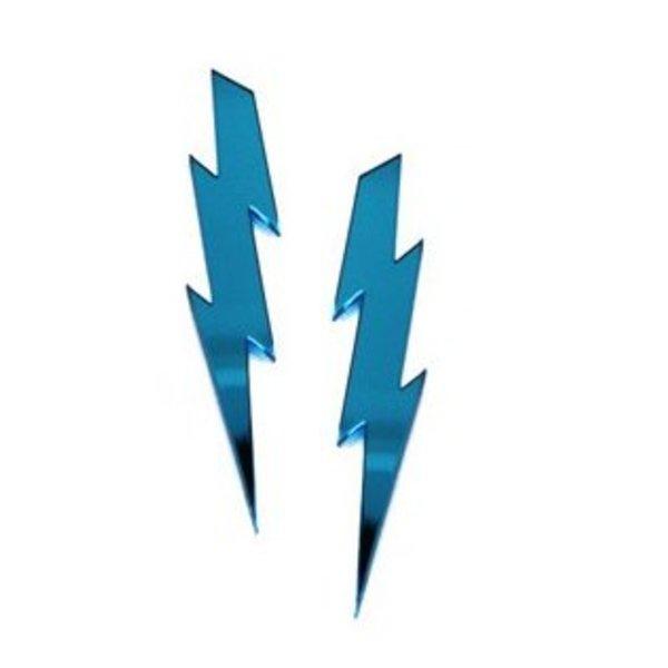 LIGHTNING BOLTS Earrings (blue)