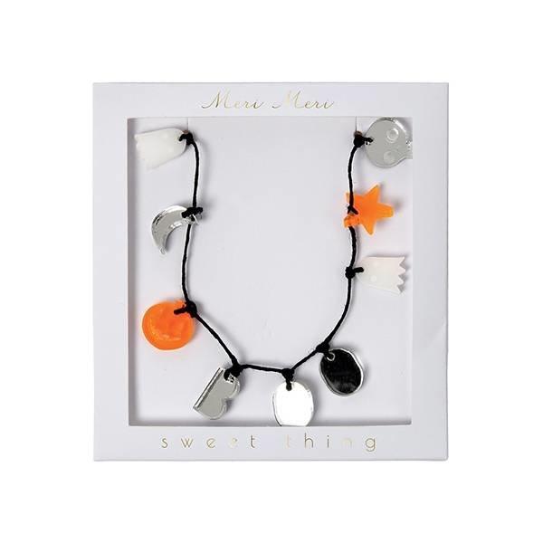 Halloween charm necklace