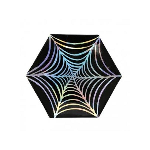 Cobweb foil plates