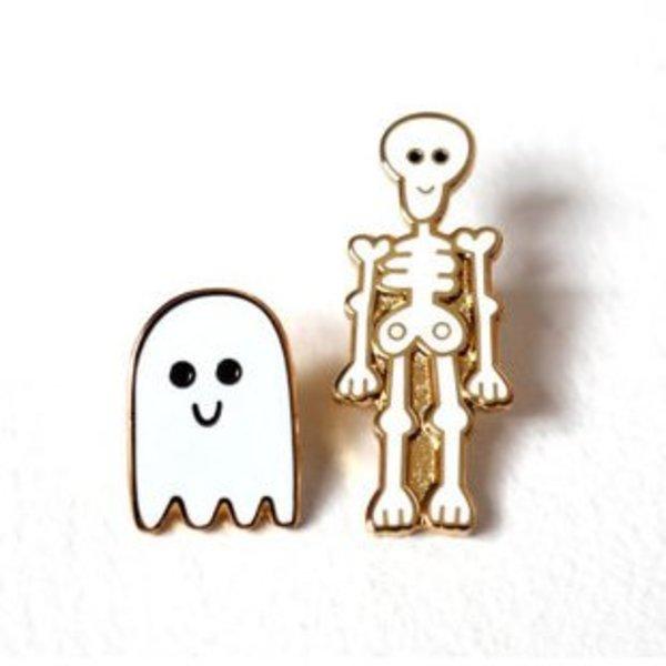 Skeleton & Ghost pins