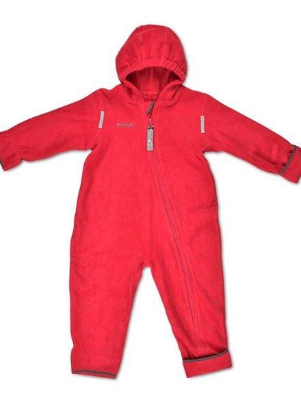 HOPPEDIZ Fleece overall Rood