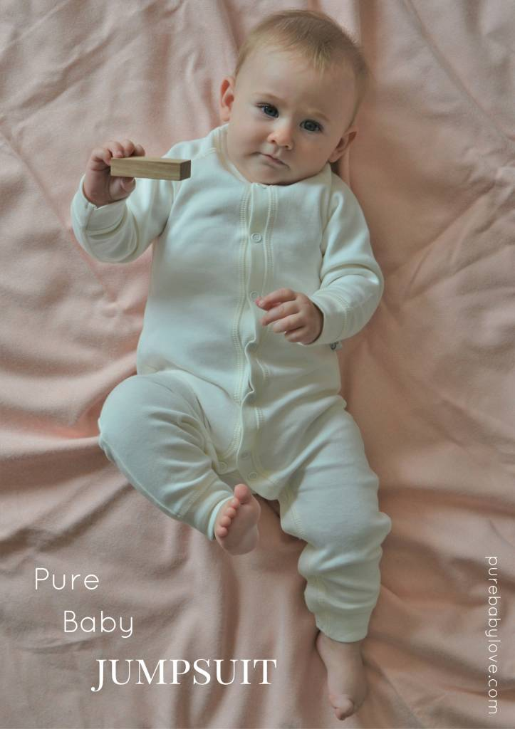 Pure Baby Love Pure Baby Love Jumpsuit Baby Wit