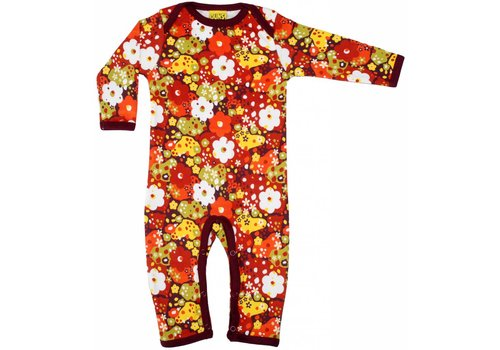DUNS Sweden Duns Jumpsuit Flower Red