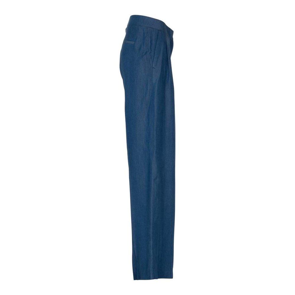 Nieuw silhouet: de wijde tencel broek