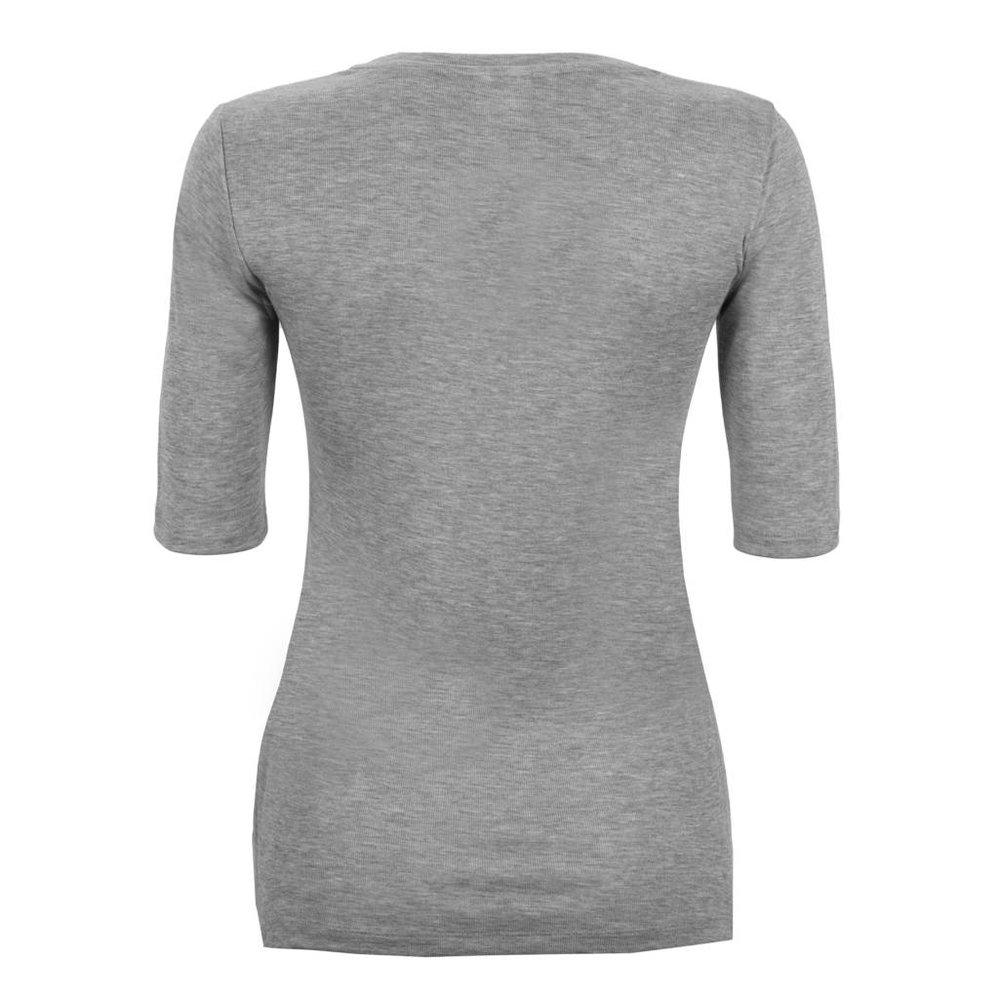 Vrouwelijk zacht v-hals t-shirt 100% Lyocell