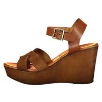 Rinske schoen vrouwen cognac