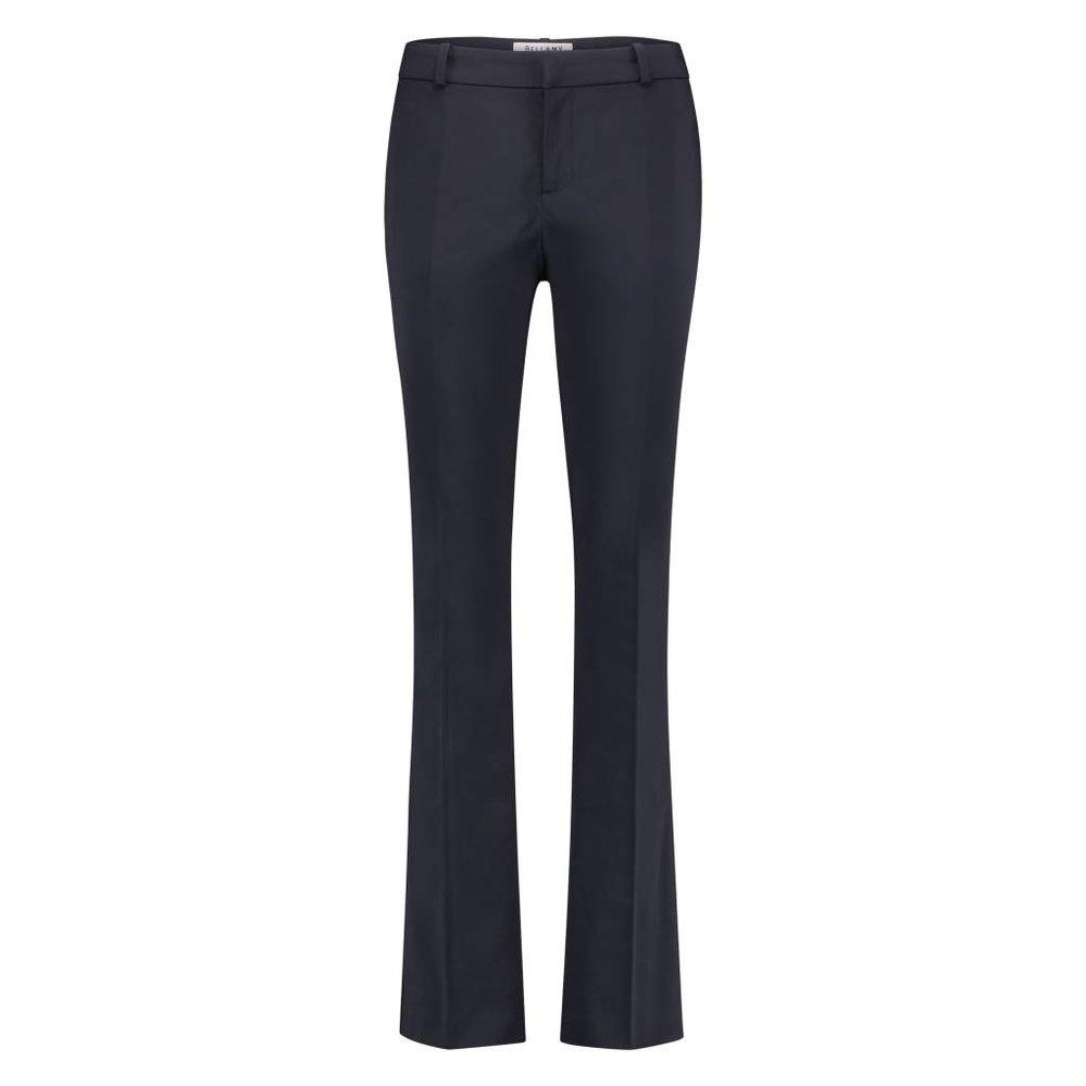 Flair broek met hoge taille