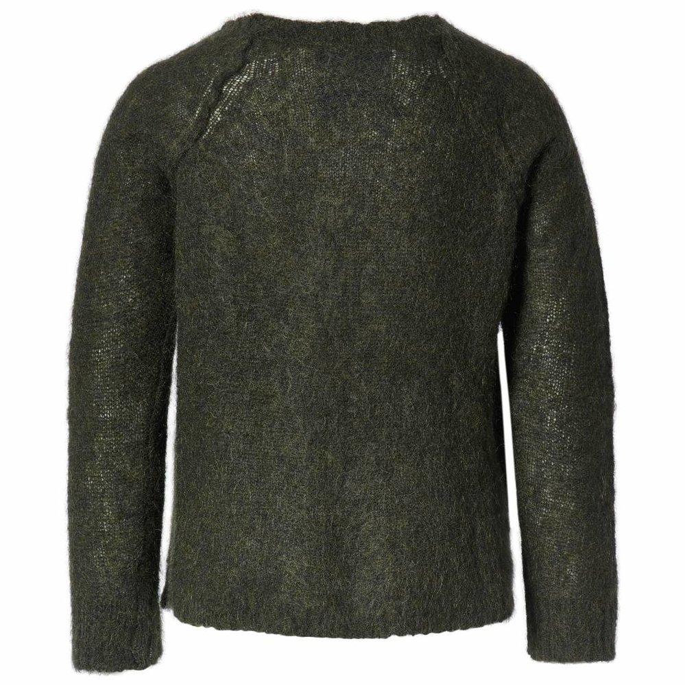 Ultra zachte trui met raglanmouw