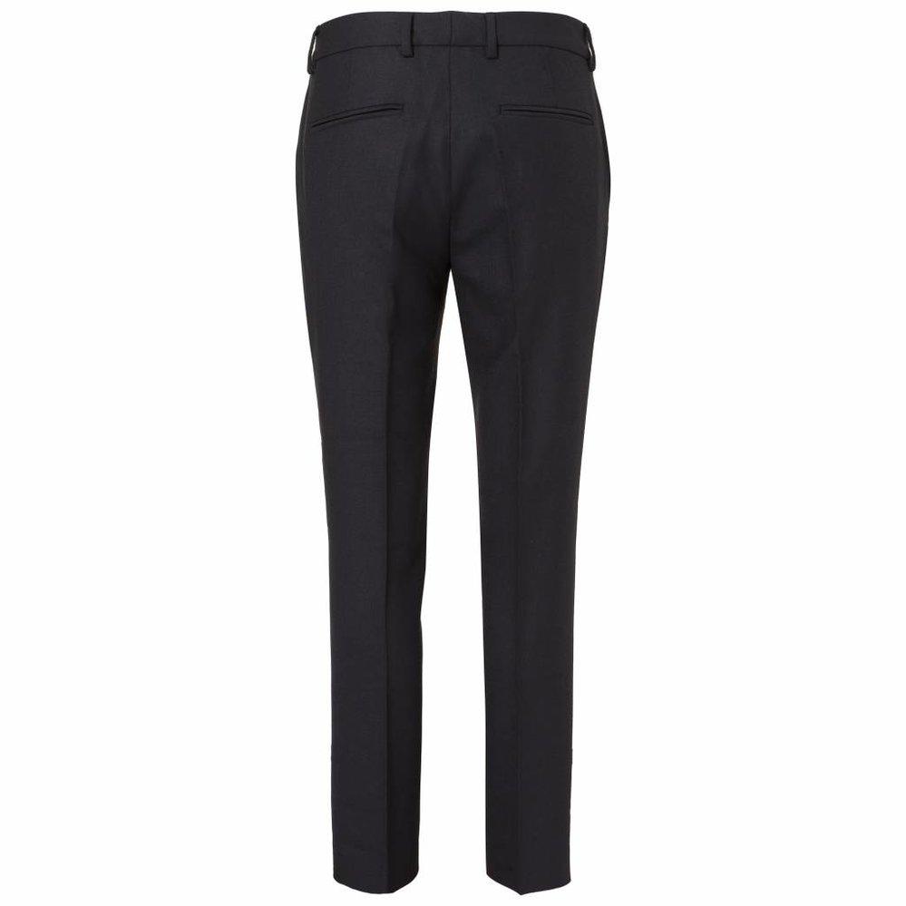 luxe wollen slimfit pantalon