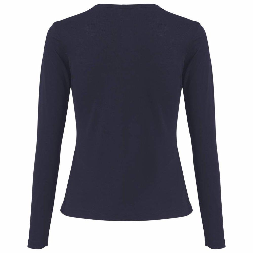 Duurzaam lyocell t-shirt met ronde hals
