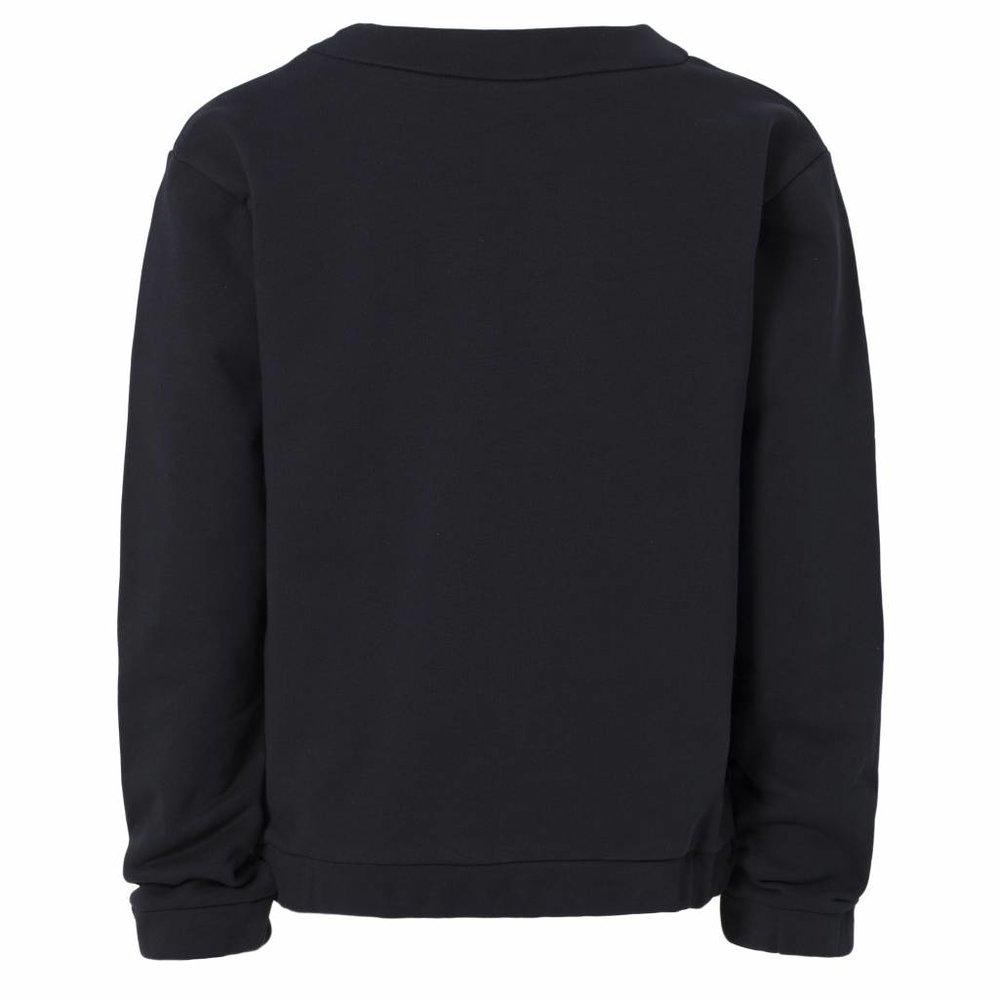 Cosy sweater met ritsje