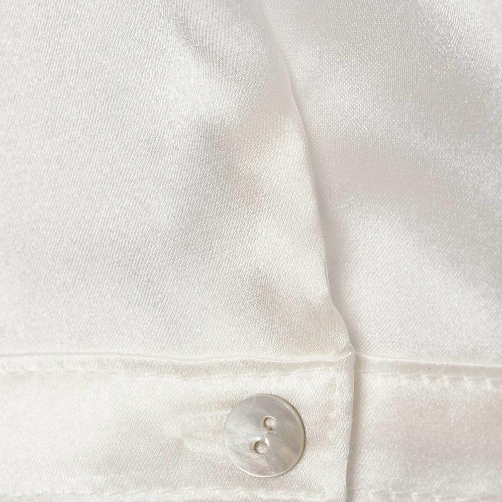 Charmante v-hals top van zijdemix
