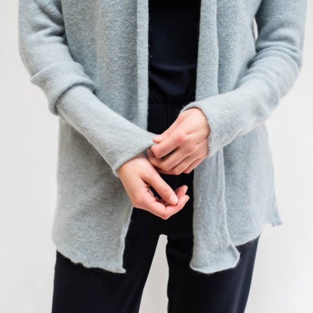 super soft long cardigan with pockets