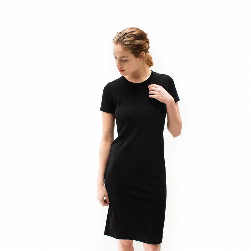 """Zeer stijlvolle perfecte """"little dress"""" korte mouw - Copy"""