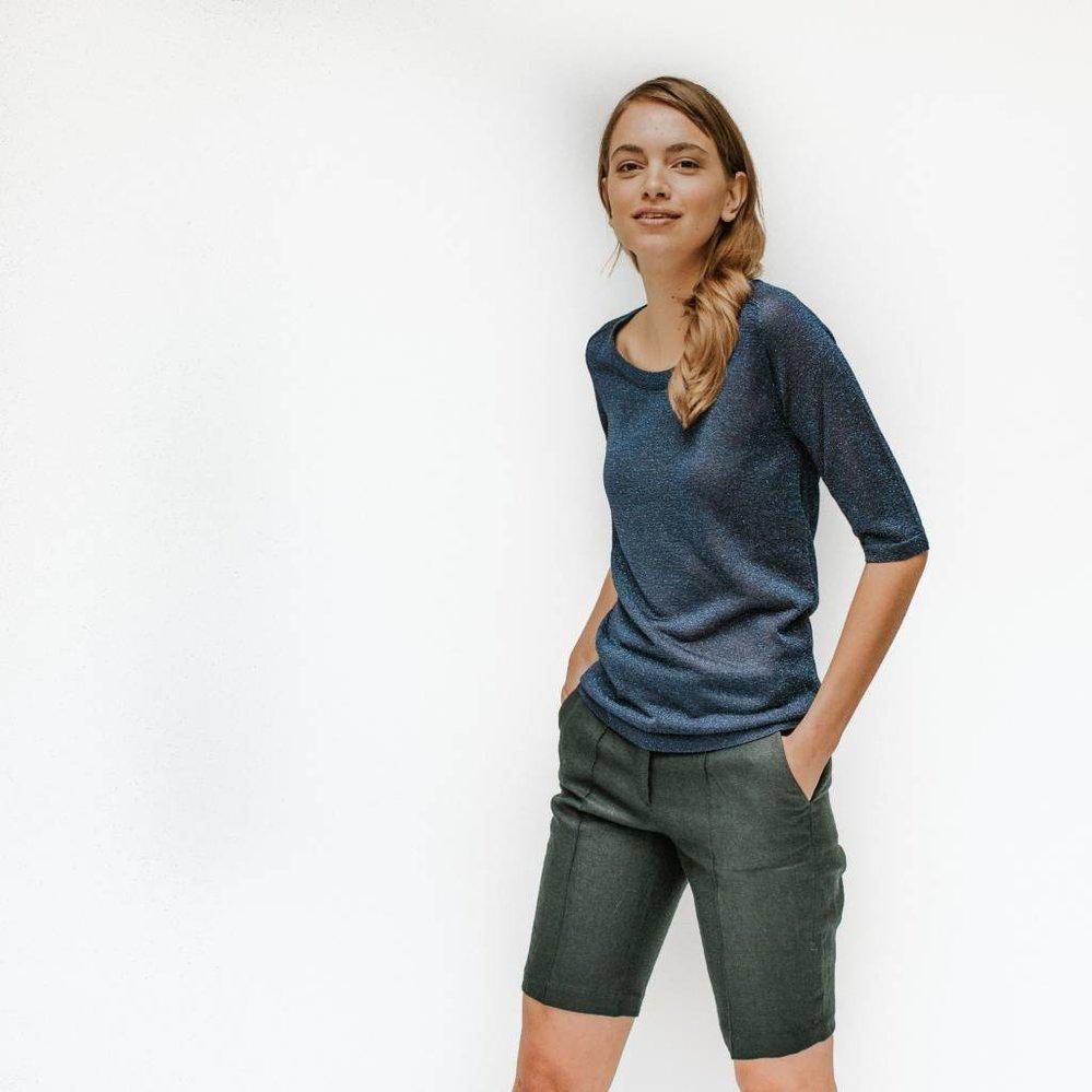 Elegante linnen short