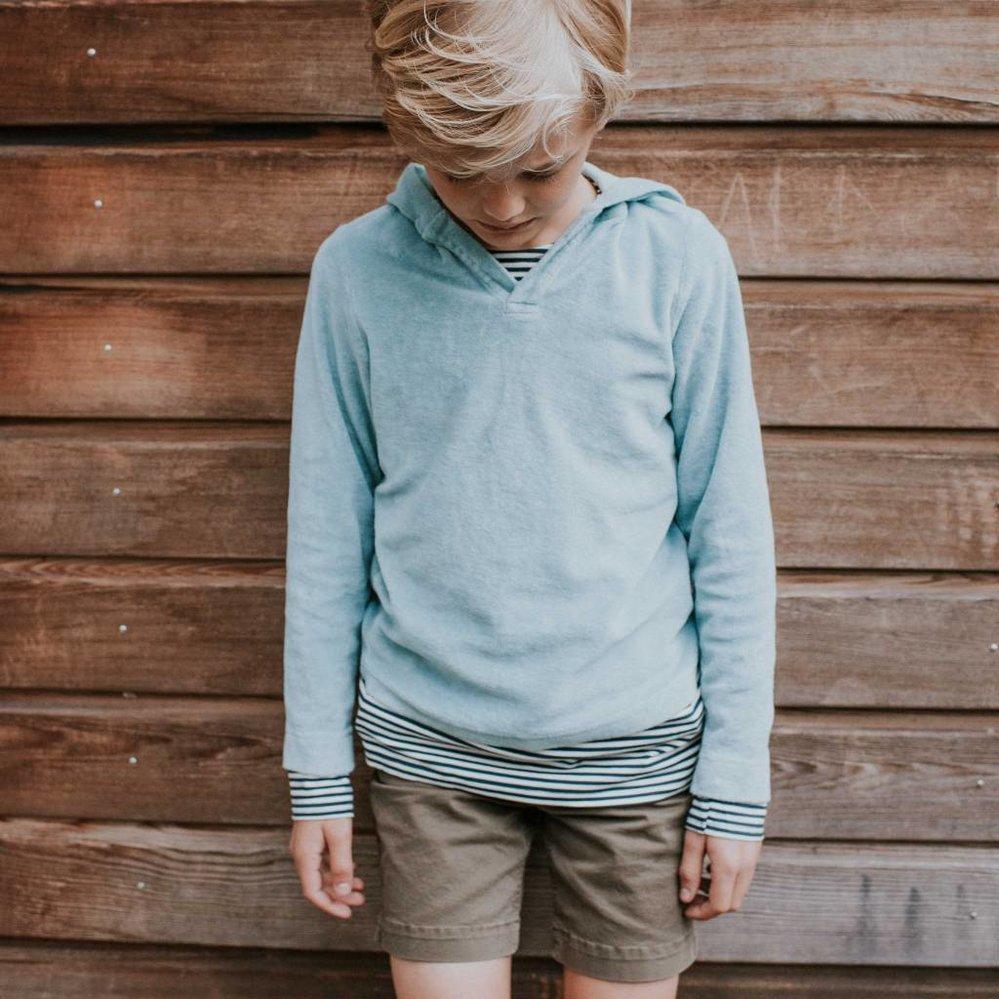 Allerzachtste hoody sweater, terry 100% katoen