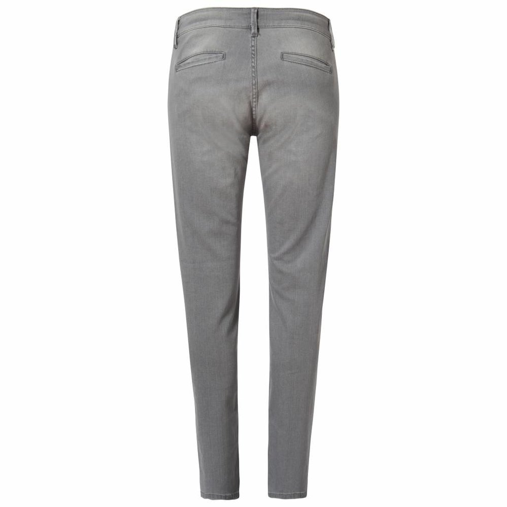 Slim fit chino jeans met dubbele stretch