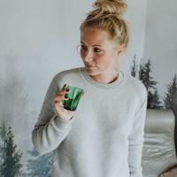 Eef sweater grijs melee