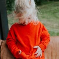 Eef sweater kinderen rood