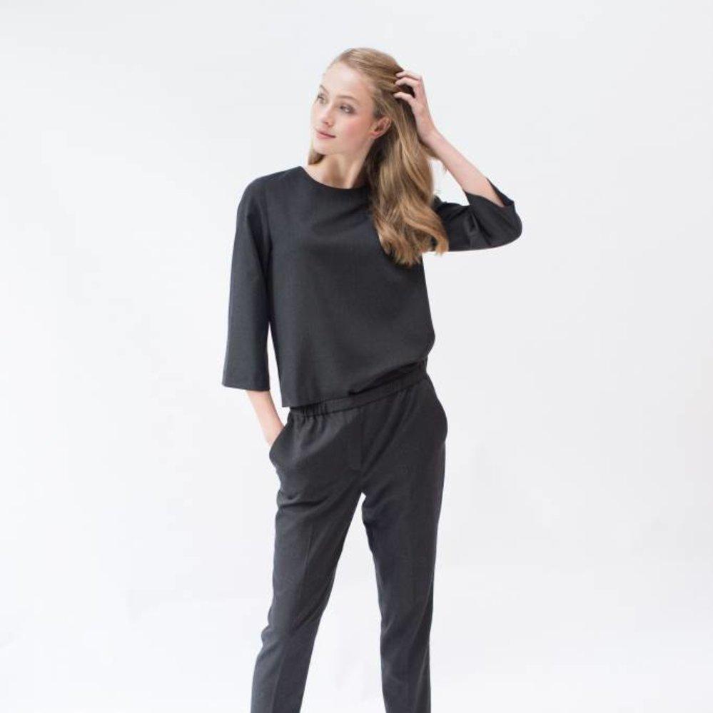Cool Wool 7/8 wide sleeve top