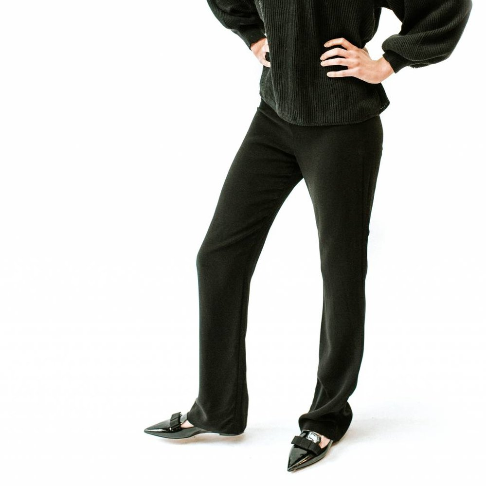 To good to be true high waist & wide leg pant