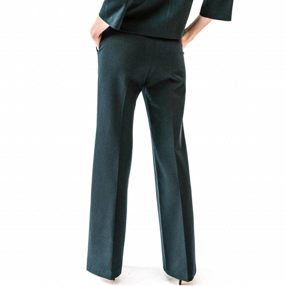 Heavy stretch wide leg pants
