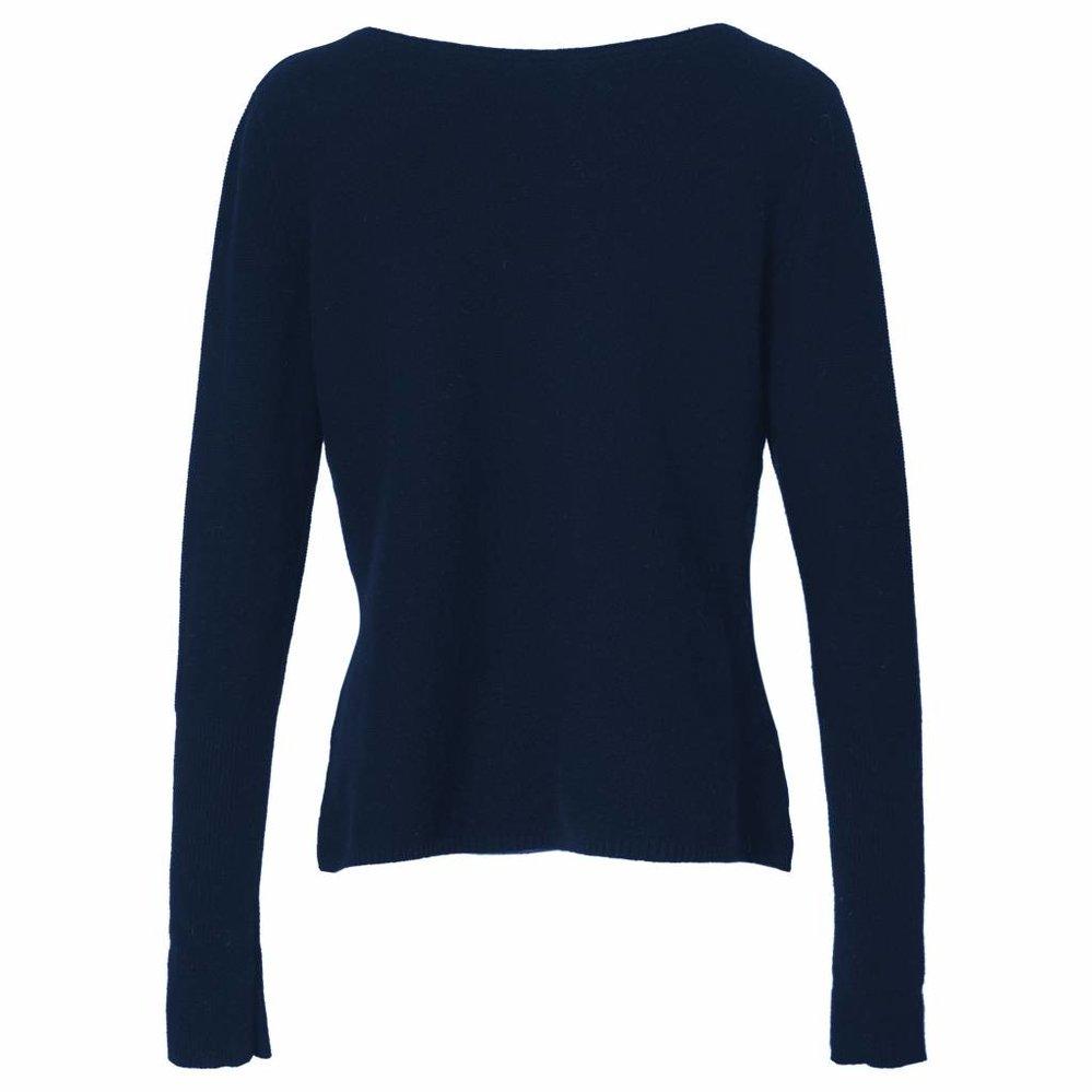 Prachtige cashmere trui met boothals