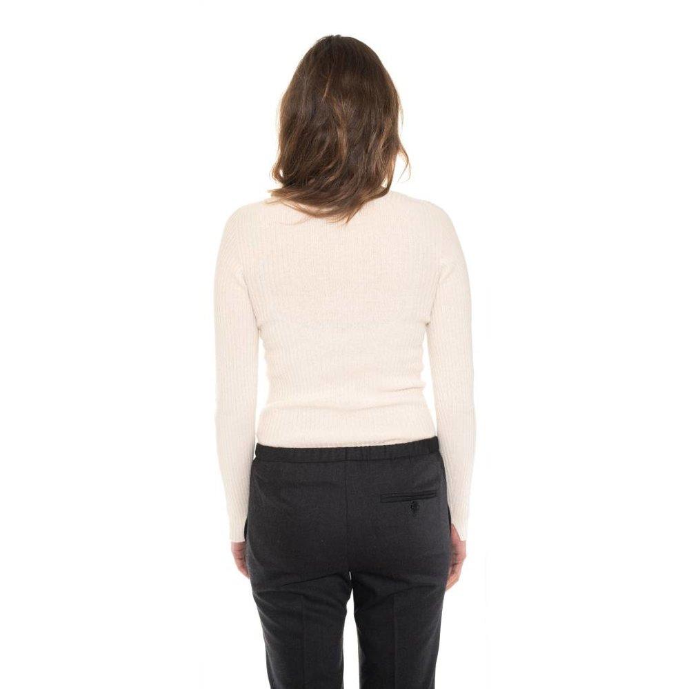 classy rib cashmere sweater