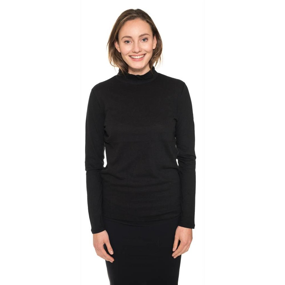 super soft cotton - cashmere turtle neck