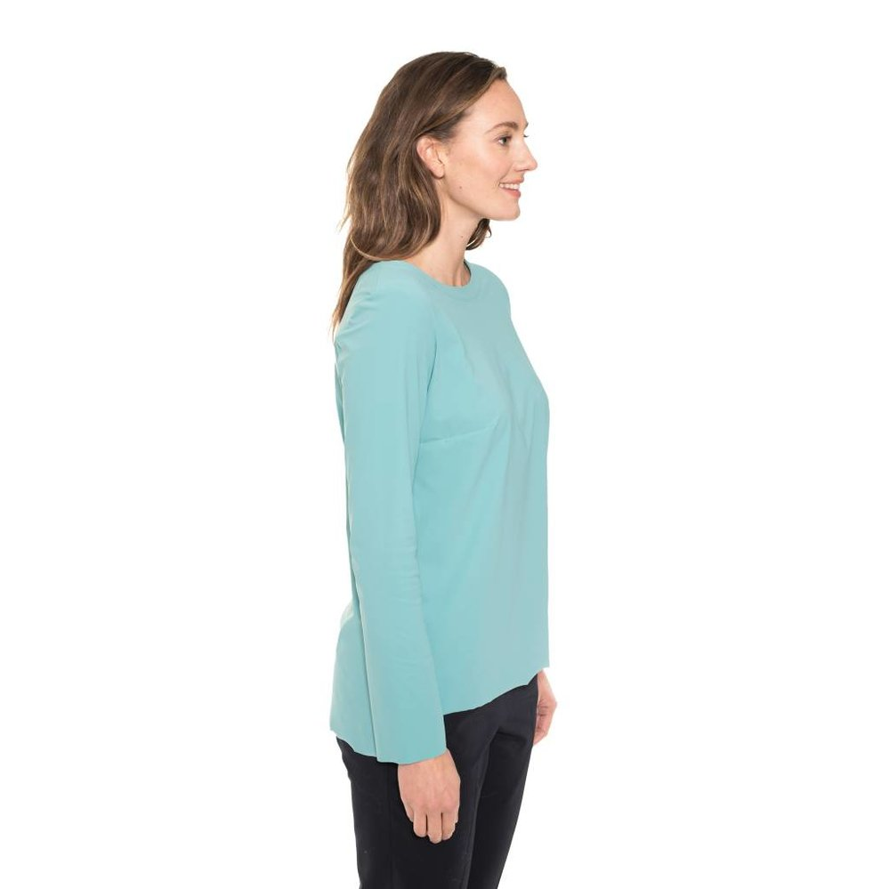 boatneck top travel fabric
