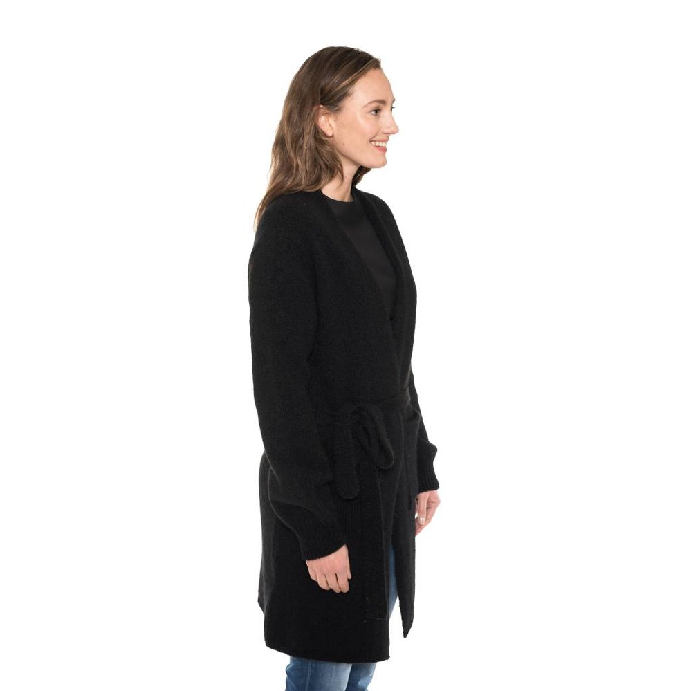 feminine long cardigan