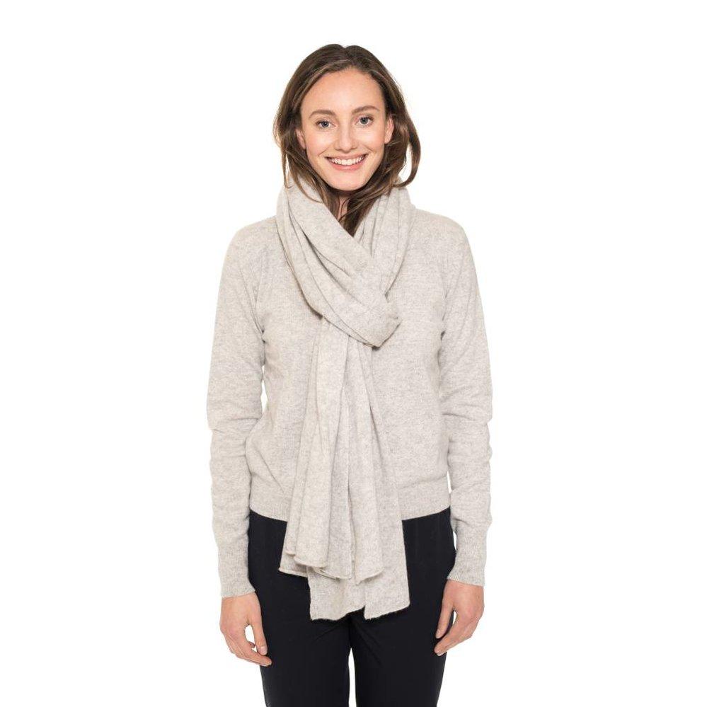 100% cashmere vest met blinde sluiting