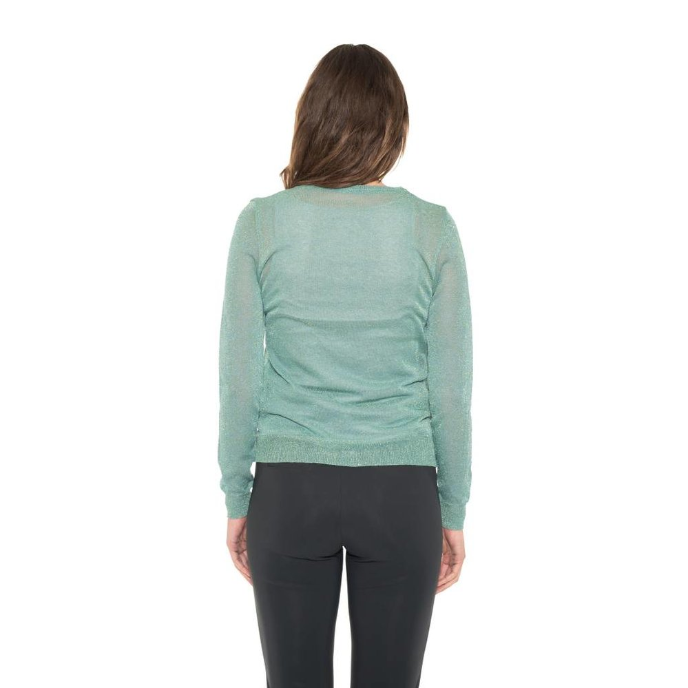 Classy lurex basic cardigan