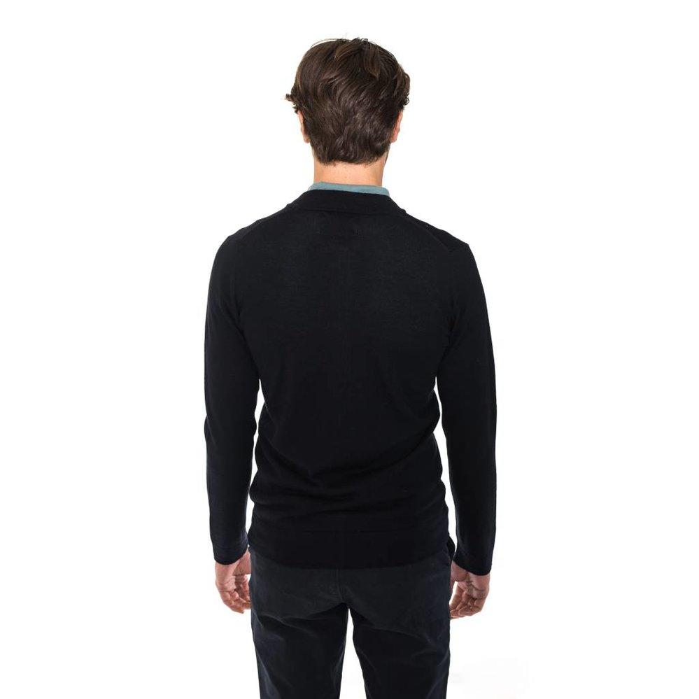 Slim fit 100% merino woolen bomber